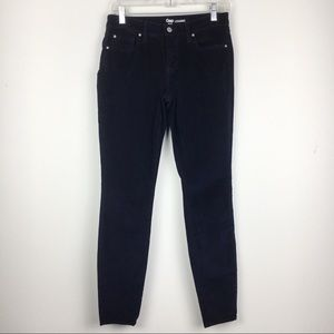 Gap Dark Blue Cords Corduroy Legging Pants Size 4